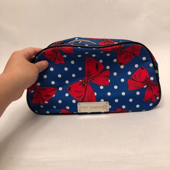 Betsey Johnson Handbags - Betsy Johnson Cosmetic Bag
